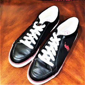 EUC - POLO RALPH LAUREN 'Cantor' Low Sneaker